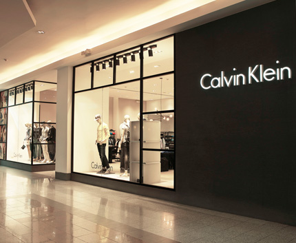 Calvin klein mall el jard n for Local interior designers