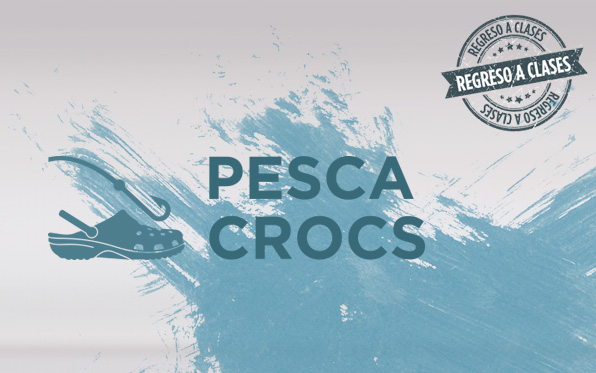 PESCA CROCS